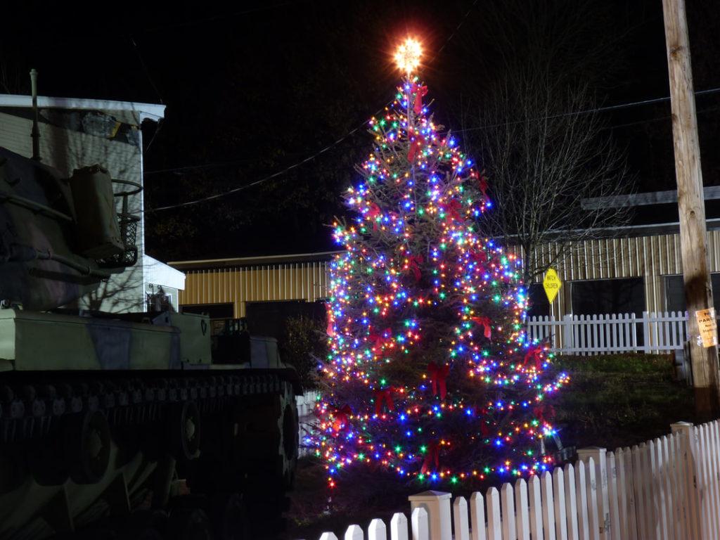 Mahanoy City Christmas Tree Lighting 2020 Local residents, students perform during Mahanoy City Tree